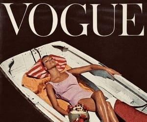 fashion, vogue, and model image