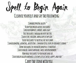 spell, witch, and begin again image