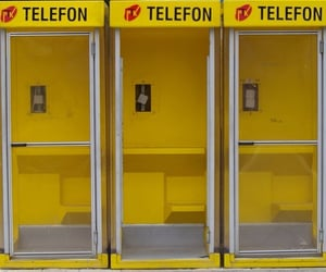 photography, telephone, and yellow image