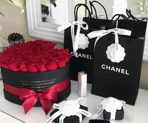 chanel, rose, and style image