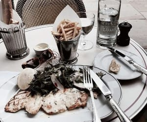 food, healthy, and restaurant image