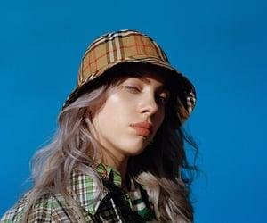 billie eilish, blue, and singer image