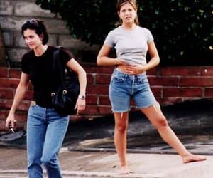 friends, Jennifer Aniston, and Courteney Cox image