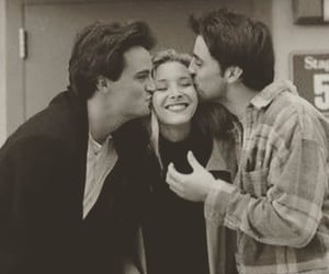 friends, chandler bing, and phoebe buffay image