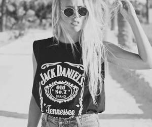 girl, fashion, and jack daniels image