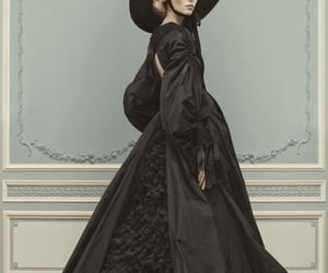ballgown, goth, and victorian image