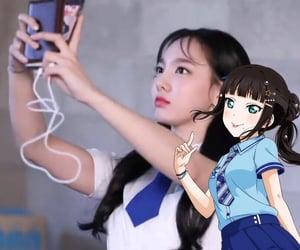 anime girl, kpop lq, and dia kurosawa image