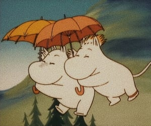 aesthetic and moomin image