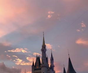 wallpaper, castle, and disney image