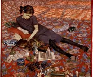 art, girl, and felice casorati image