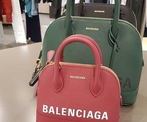 bags, Balenciaga, and black image