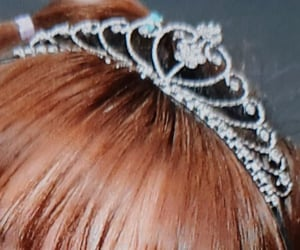 details, diamonds, and hair accessory image