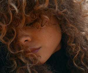 curly, girls, and style image