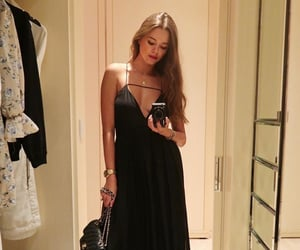 blogger, haute couture, and dress image