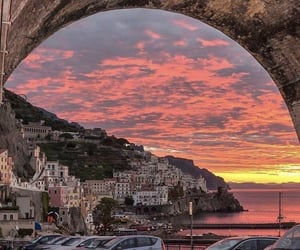 italy, sunset, and lifestyle image