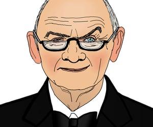 audi, political cartoon, and volkswagen image