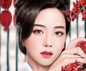 fanart, kpop, and jisoo image