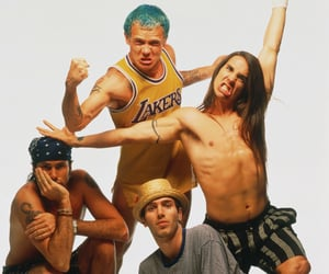 1990s, red hot chili peppers, and friends image