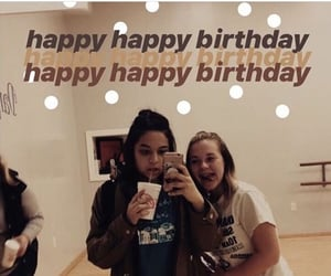 birthday, happy, and sister image