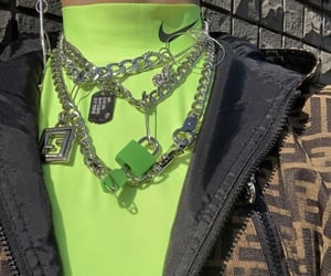 aesthetic, chains, and clothes image