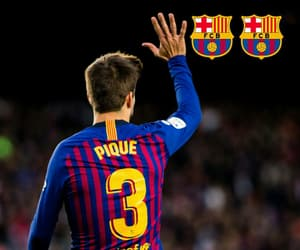 500, fc barcelona, and pique image