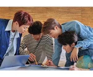 exo, kai, and minseok image
