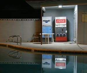 coca-cola, Pepsi, and pool image
