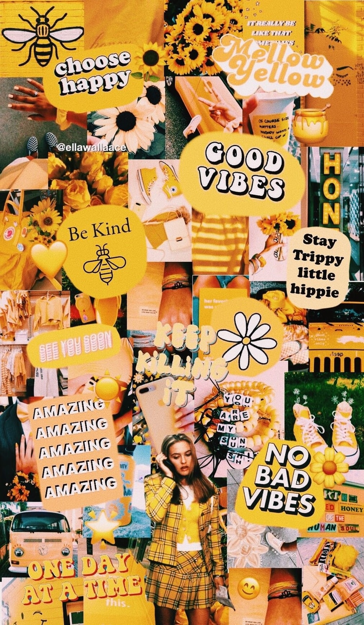 Yellow Wallpaper Thank Yall For 810 Followers 3
