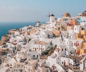 travel, Greece, and beautiful image