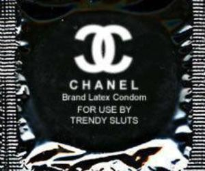 chanel, condom, and rubber image