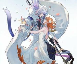 anime, merlin, and anime boy image