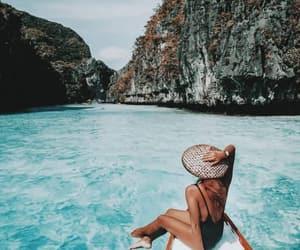 girl, summer, and biniki image