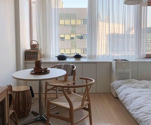 apartment, simplicity, and bedroom image
