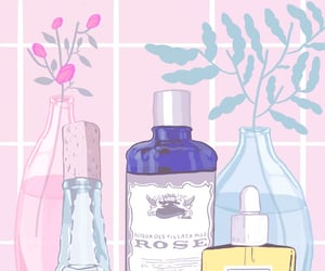 aesthetic, pink, and skin care image