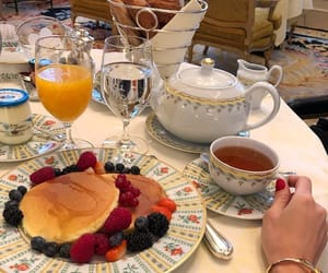 tea, food, and fruit image