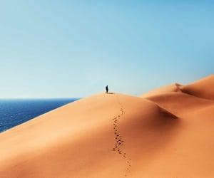sand and sea image