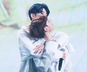 x1, seungwoo, and hyeongjun image