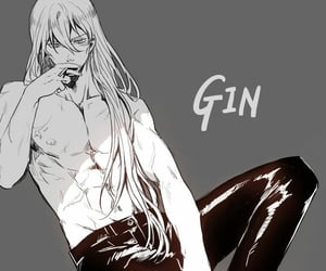 anime, gin, and Hot image