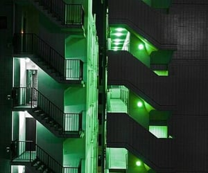 green, light, and neon image