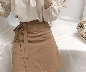 fashion, brown, and minimalist image