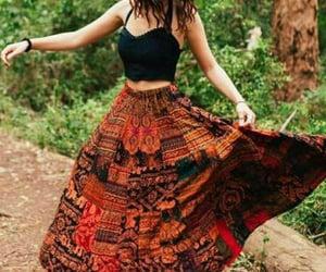 boho, fashion, and girl image