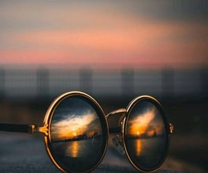 art, city, and glasses image