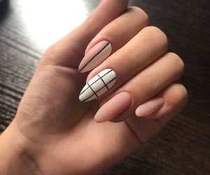 nails, beautiful, and hands image
