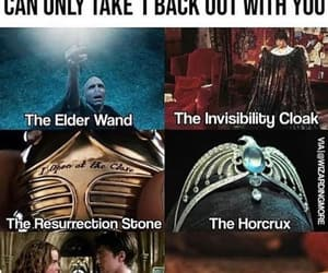 harry potter, meme, and invisibility cloak image