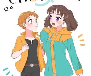 anime, anime girl, and diane image