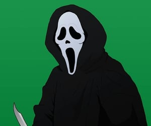 scream and ghost face image
