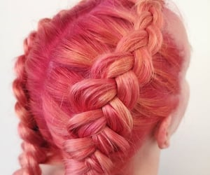aesthetic, braid, and girl image