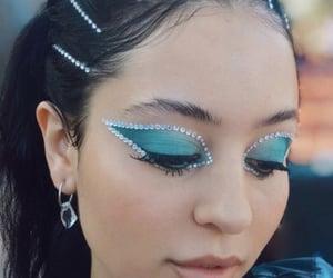 euphoria, blue, and makeup image