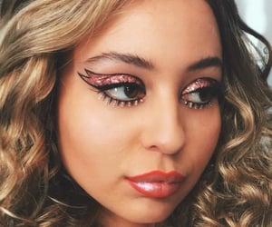 euphoria, makeup, and glitter image