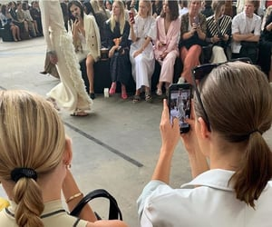 chanel and fashion week image